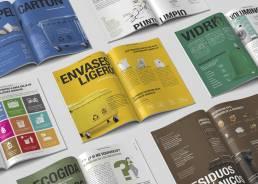 Guías de reciclaje interior