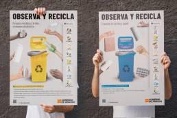 Carteles reciclaje