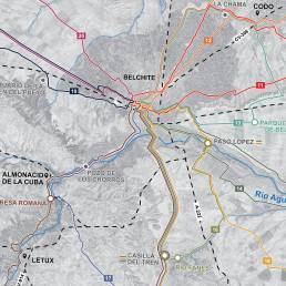 Rutas senderistas Belchite